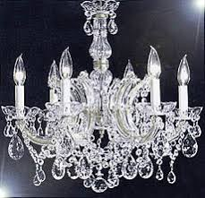 Maria Theresa 6 Light Crystal Chandelier F83 Silver 7002 6 Gallery Maria Theresa