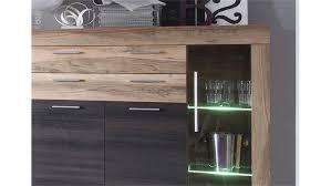 Esszimmer Highboard Boom Nussbaum Braun Touchwood Inkl Beleuchtung