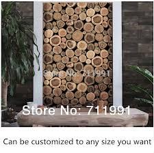 custom 3d wall wallpaper wood grain texture decorative wall