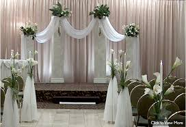 wedding arches and columns stunning columns for wedding ceremony pictures styles ideas