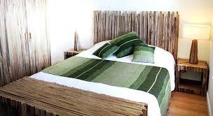 deco chambre bambou deco de chambre chambre ambiance moderne lit nature deco de