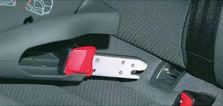 siege auto rehausseur isofix harnais de sécurité trop lâche