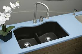 Undermount Composite Granite Kitchen Sinks by Beauteous Decorations With Composite Granite Kitchen Sinks U2013 Black
