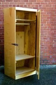 hand crafted freestanding wardrobe chifferobe closet by ambassador