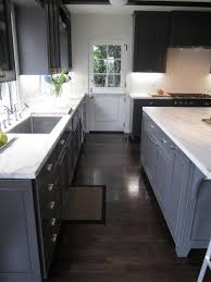 grey kitchen cabinets with brown wood floors cococozy exclusive kitchen couture an california
