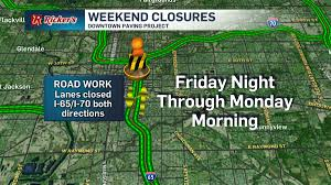 Indiana Road Map Indot Plans Weekend Interstate Road Projects Indiana News 13
