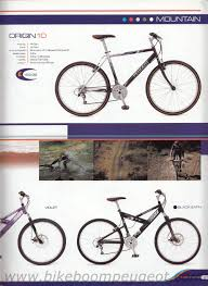 peugeot mountain bike peugeot 2001 brochure united kingdom