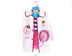 doc mcstuffins costume doc mcstuffins coat 3 6yrs