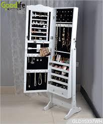 standing mirror jewelry cabinet best contemporary dressing mirror jewelry cabinet intended for