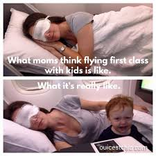 first class to paris how to survive flying with baby
