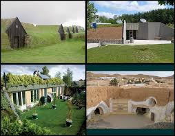 earth sheltered homes complete blueprints