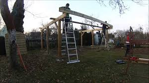 carport for two cars youtube