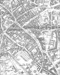 map of newcastle lyme newcastle lyme town centre 1898