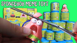 Meme Toys - 30 spongebob meme toy capsules yes actual meme toys youtube