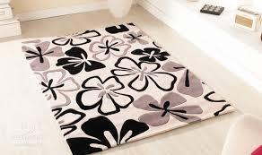 tappeti moderni grandi tappeti bianchi corridoio con tappeto bianco e nero with