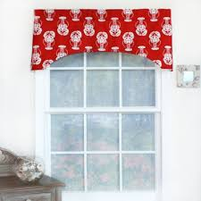 Red Kitchen Curtains And Valances by Buy Beach Valances From Bed Bath U0026 Beyond