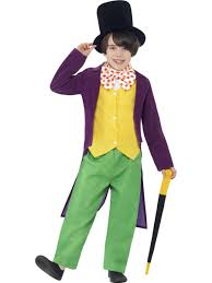child roald dahl willy wonka costume 27141 fancy dress ball
