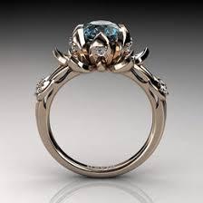 blue rose rings images Handmade vintage rose gold engagement rings ideas jpg