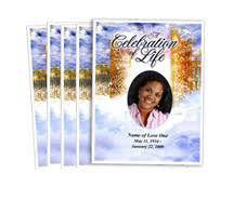 images of funeral programs funeral program printing services