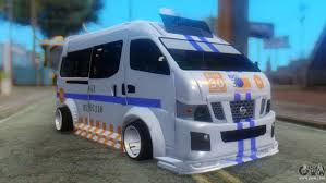 nissan van nv350 nissan urvan nv350 for gta san andreas