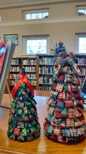 fabric christmas tree craft new london public library