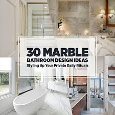 Bathroom Decor Ideas Pictures 30 Marble Bathroom Design Ideas Styling Up Your Private Daily