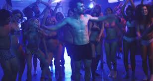 max strips down for u0027basement party u0027 music video u2013 watch now