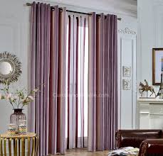 chenille purple thermal curtains vertical striped curtains