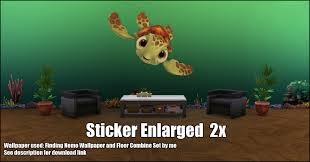 mod the sims finding nemo wall stickers standalone object it s a standalone so it doesn t override any other wall stickers in your game you can find them under built mode decorative paintings
