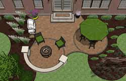 Patio Design Pictures Pre Priced Patio Designs Dayton Schneider S Landscaping