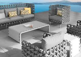 Designer Patio Furniture Grey Outdoor Furniture My Apartment Story