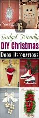 diy christmas home decor 16 budget friendly diy christmas door decorations u2022 diy home decor