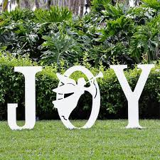Large Outdoor Metal Christmas Decorations by 18 Best Outdoor Yard Signs Images On Pinterest Outdoor Christmas