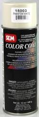 sem 15003 phantom white plastic and vinyl color coat kern