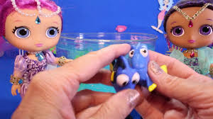 shimmer and shine make finding dory open ocean aquarium slime