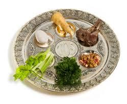 seder meal plate bkosher