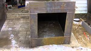 Cheap Wood Burning Fireplaces by 2 Diy Outdoor Wood Burner Boiler Hydronic Wood Burning Stove