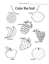 fruit coloring pages esl shishita world com