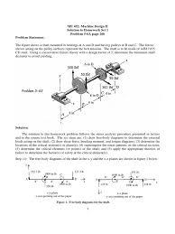 hw1 sol fall 2015 bending stress mechanics