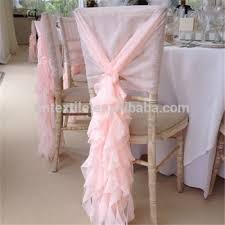 curly willow chair sash wedding chair decoration chiffon chair covers curly willow chair