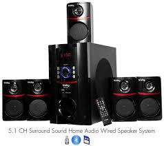 home theater systems amazon com amazon com frisby fs 5010bt 5 1 surround sound home theater