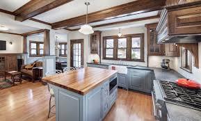 chicago bungalow floor plans bungalow kitchen liska architects