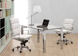 White Desk Chairs With Wheels Design Ideas Modern Home Office Chair Combination Of Workdesk And
