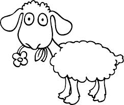 sheep outline coloring sheep coloring sheep coloring