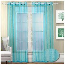 Turquoise Sheer Curtains Turquoise Sheer Curtains Furniture Ideas Deltaangelgroup