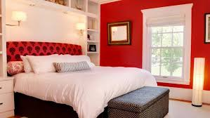 How To Decorate A Bedroom With Red Walls - White and red bedroom designs