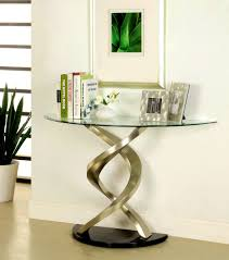 Sofa Table Walmart furniture outstanding coaster silver glass console table steal