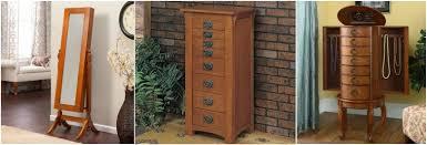 brown jewelry armoire 25 beautiful oak wood jewelry armoires zen merchandiser