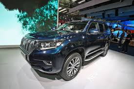 world auto toyota updated toyota land cruiser at 2017 frankfurt show pictures specs