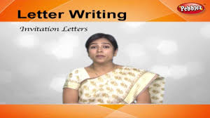 how to write invitation letters letter writing in english